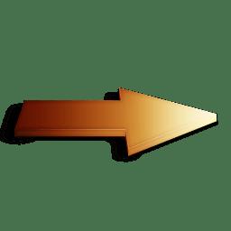 Suivant orange icon