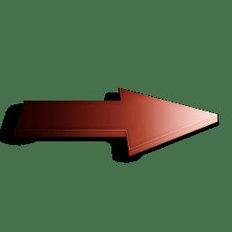 Suivant rouge icon