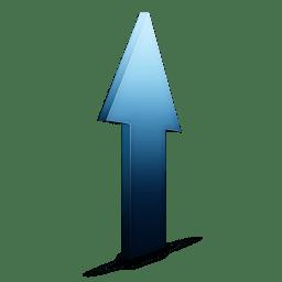 Upload bleu icon