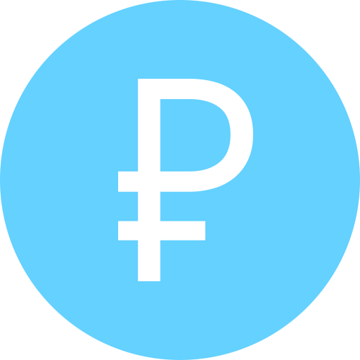 Ruble RUB icon