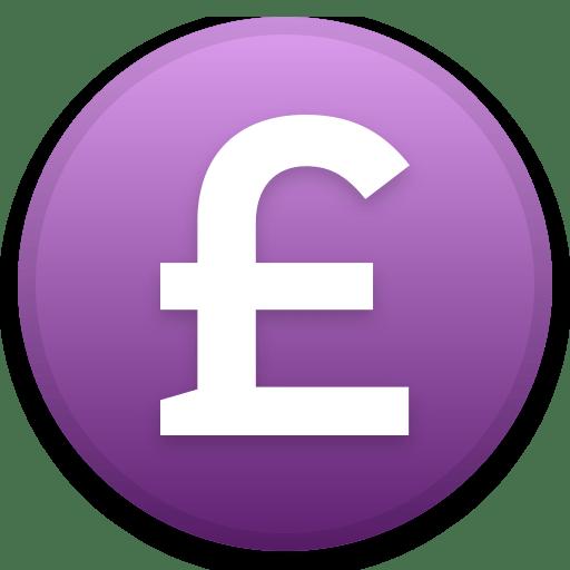 Pound GBP icon