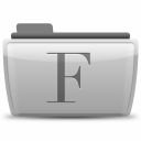 08 Fonts icon