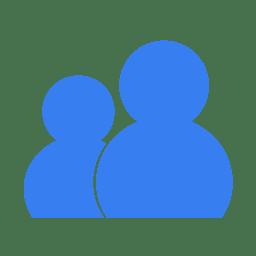 Communication wlm blue icon