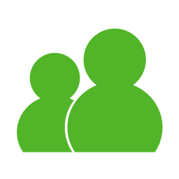 Communication wlm green icon