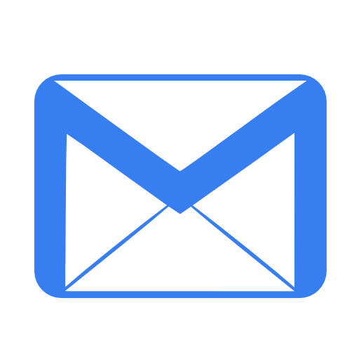 Communication-email-blue icon