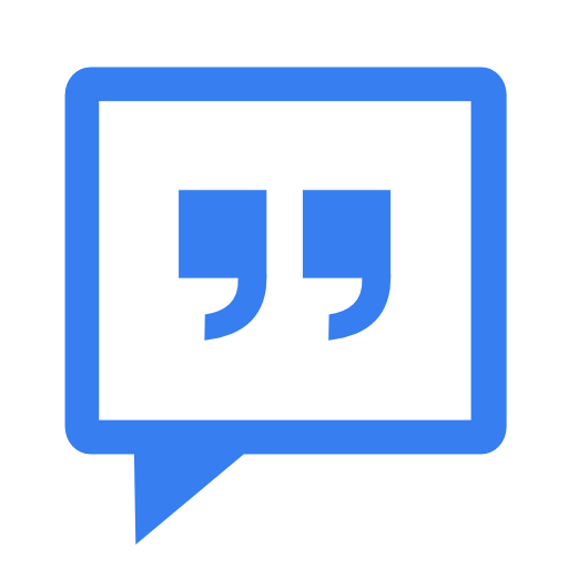 Communication-messenger-blue icon
