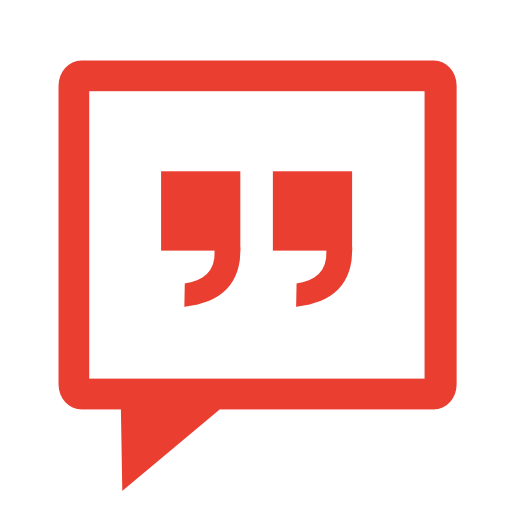 Communication-messenger-red icon