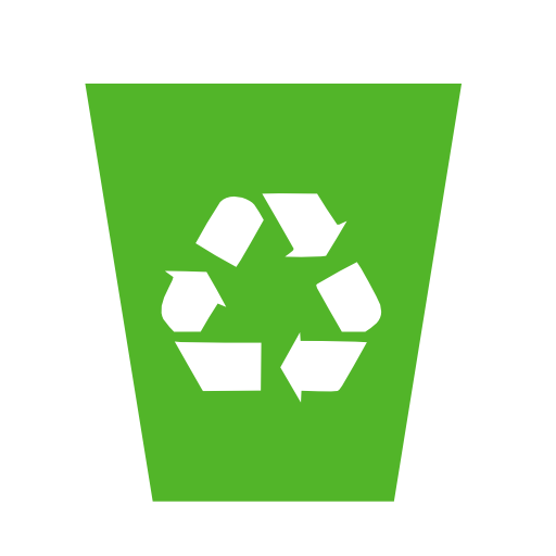 System recycling bin icon