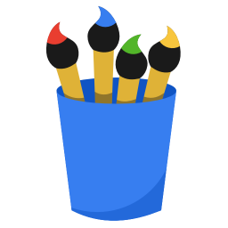 Media paint icon