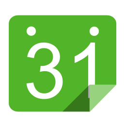 Utilities calendar green icon