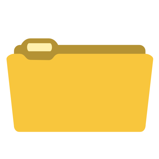 System folder yellow icon