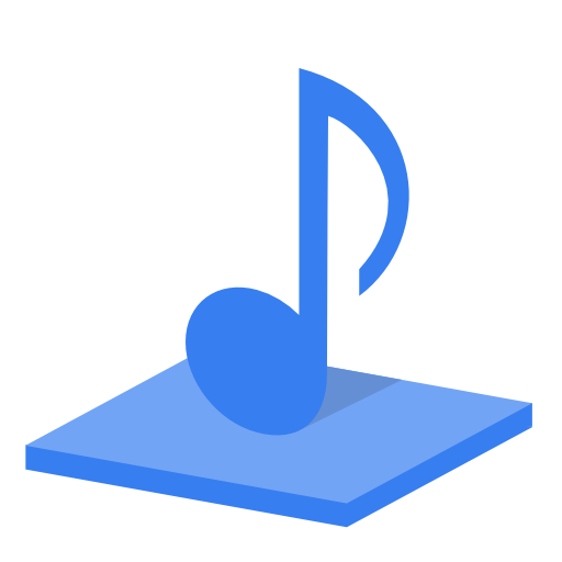 System-library-music icon