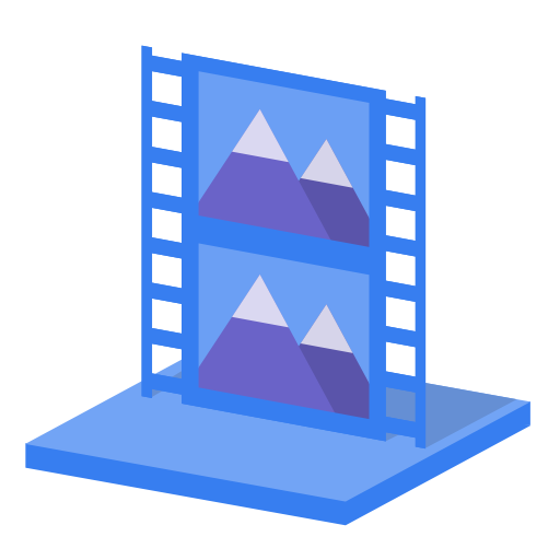 System-library-videos icon