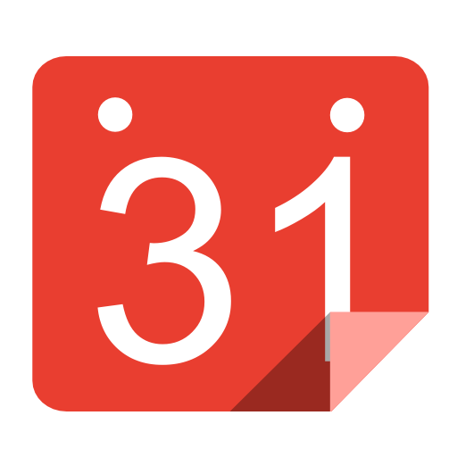 Utilities calendar red icon