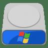 System-hdd-windows icon