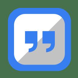 Communication messenger 3 icon
