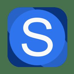 Communication skype icon