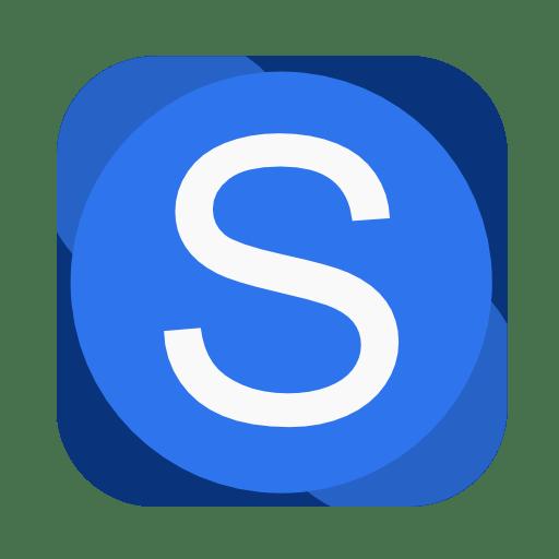 Communication-skype icon