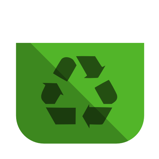 System recycling bin empty icon