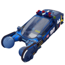 Police spinner car icon
