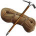 Piolet-rope icon