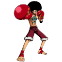 Affro-Luffy icon