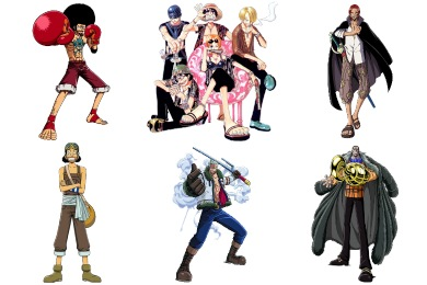 One Piece Manga Icons