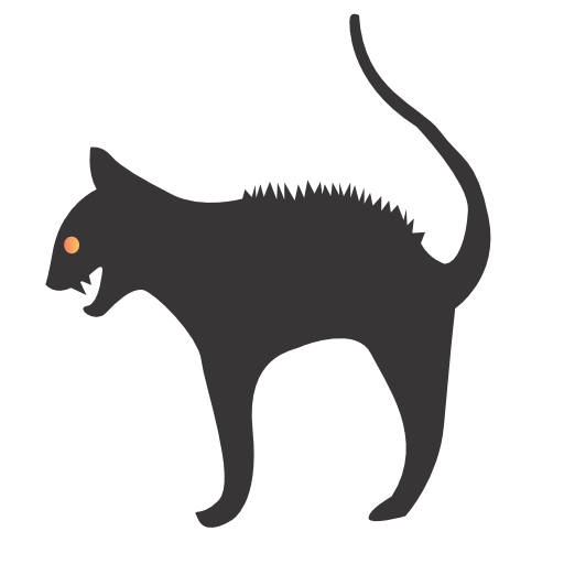 Cat Icon | Halloween Iconset | CSS Creme
