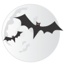 Bats-moon icon