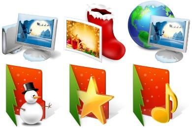 Christmas Folder Icons