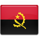 Angola Flag icon