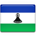 Lesotho Flag icon
