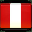 Peru Flag icon