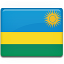 Rwanda Flag icon
