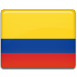 Colombia flag icon all country flag iconset custom icon design