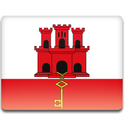 Gibraltar Flag icon