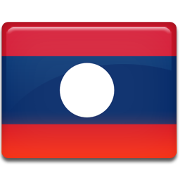 Laos Flag icon