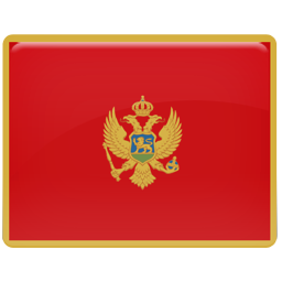 Montenegro Flag icon