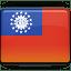 Burma-Flag icon