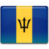 Barbados-Flag icon
