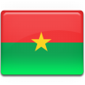 Burkina-Faso-Flag icon