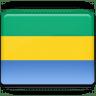 Gabon-Flag icon
