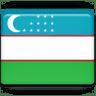 Uzbekistan-Flag icon