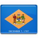 Delaware Flag icon