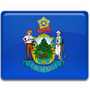 Maine Flag icon