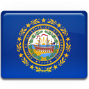 New Hampshire Flag icon