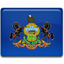 Pennsylvania-Flag icon