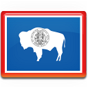 Wyoming Flag icon
