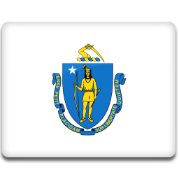 Massachusetts Flag icon