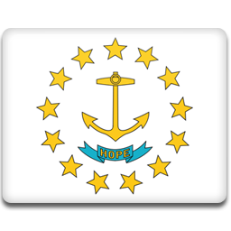 Rhode Island Flag icon